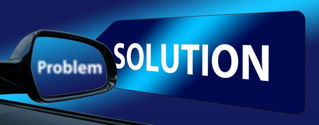rear mirror, solution, problem