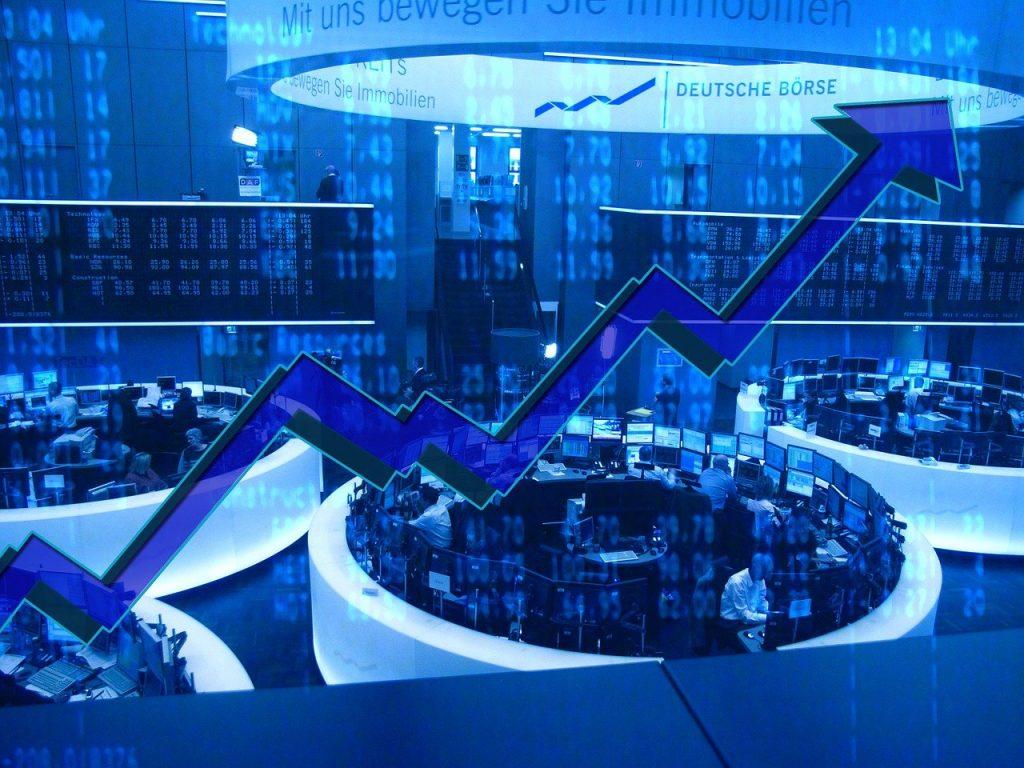stock exchange, german, frankfurt